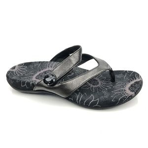 Orthaheel Cocoa Orthotic Flip Flop Sandals